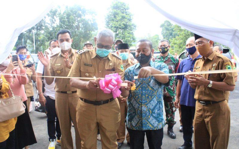 Bupati Acep Hadiri Launching Rumah Makan Pondok Kapal