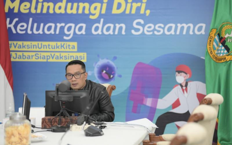 Gubernur Jabar Tekankan Pentingnya Data dalam Tangani Pandemi COVID-19