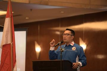Ridwan Kamil Ajak Alumni KNPI Bangun Jabar
