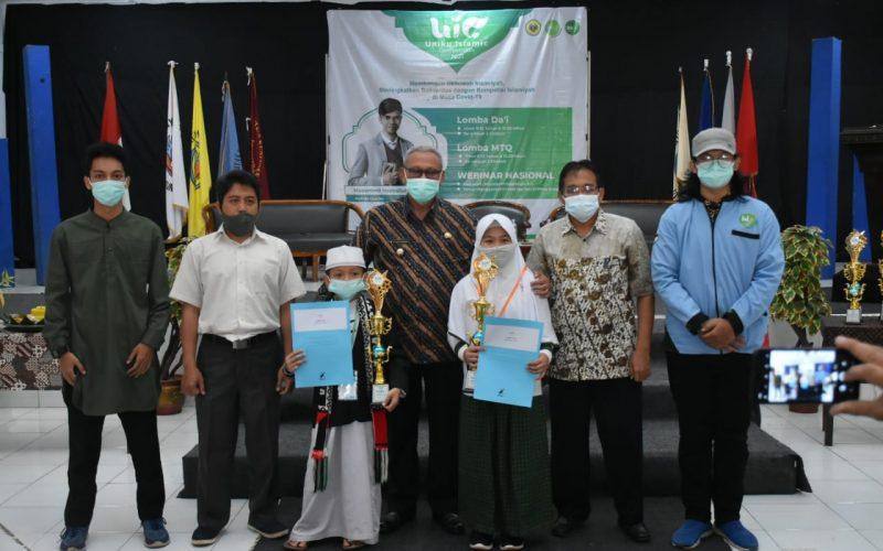 Milad LDK Uniku, Bupati Acep Apresiasi Gelaran Uniku Islamic Competition