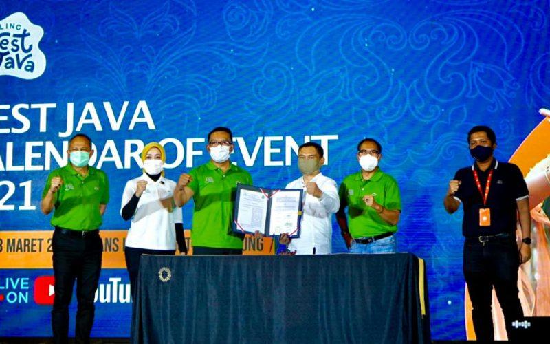 Ridwan Kamil Luncurkan West Java Calendar of Event 2021