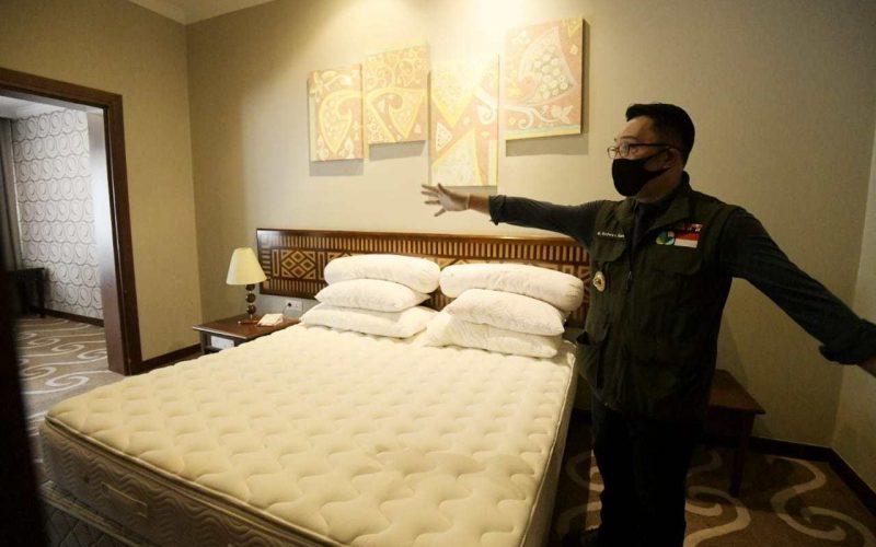 Wisatawan Menginap di Hotel Jabar Menurun