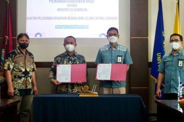 Kerjasama Program DJKN Goes to Campus, Uniku Teken MoU dengan KPKNL Cirebon