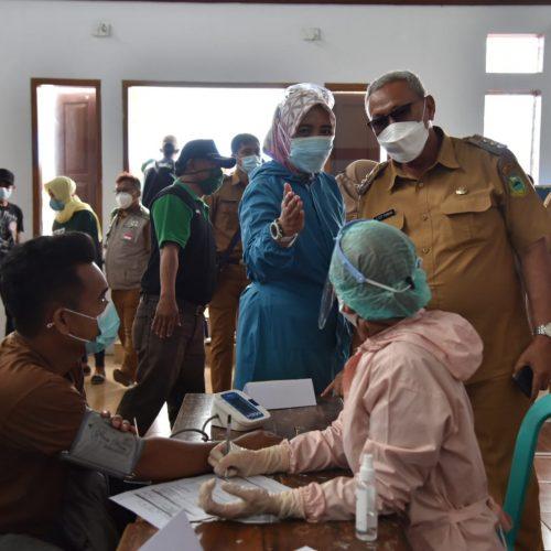 Bupati Acep Apresiasi Grebeg Vaksinasi di Desa Tangkolo Subang Sukses Digelar