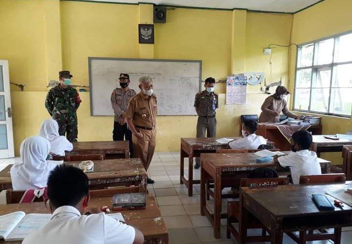 Sekolah di Kecamatan Luragung Terapkan Prokes Ketat Belajar Tatap Muka