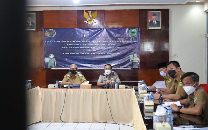 Bupati Acep Dorong Sinergitas Kebijakan dan Pelaksanaan PSN di Kuningan