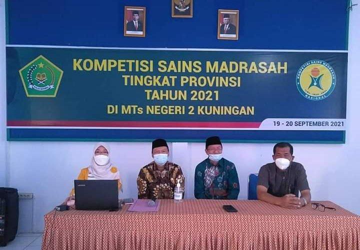 Kemenag Kuningan Gelar Kompetisi Sains Madrasah 2021