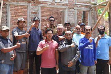 Wabup Ridho Tinjau Pembangunan Rutilahu di Desa Kasturi