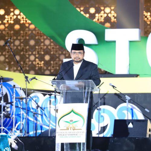 Buka STQH Nasional ke-26, Menag Ajak Masyarakat Amalkan Islam Ramah dan Damai